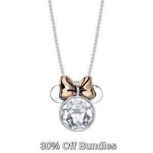 Disney | Crystal Minnie Mouse Pendant Necklace